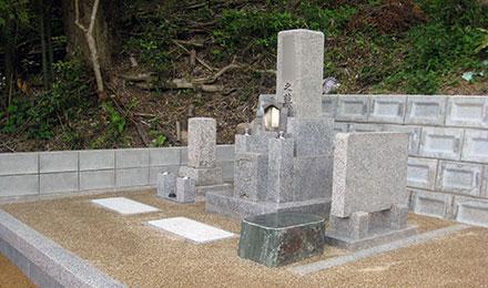 事例4:メンテナンスしやすいお墓