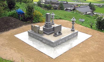 事例1:見守るお墓