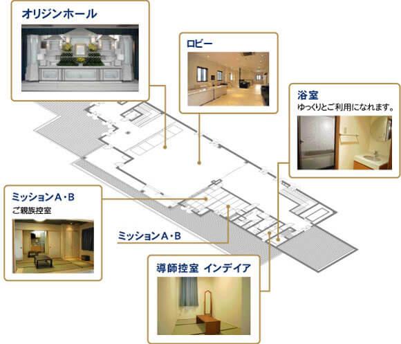 やすらぎホールAiGA設備紹介2階