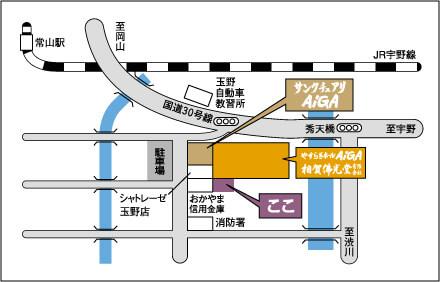 相賀佛光堂の地図